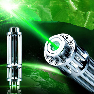 5000mw Gatling green laser pointer