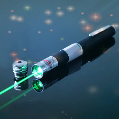 10mW 532nm green laser pointer with full sky stars AAA battery