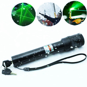 green 500mw laser pointer light match