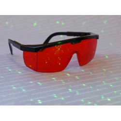 green laser googles